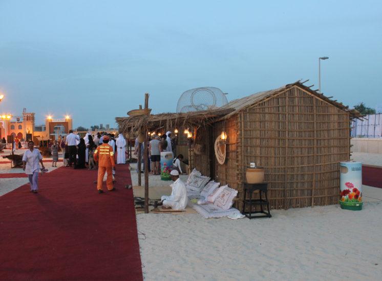 Stage Construction Dubai Marina